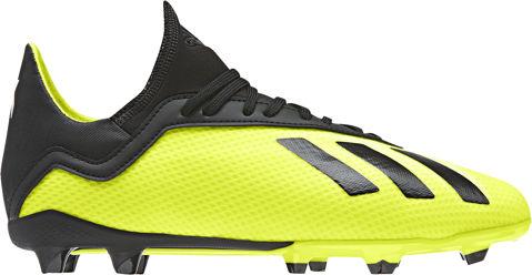 Fußballschuh X 18.3 FG J Fußballschuh gelbschwarz Sport